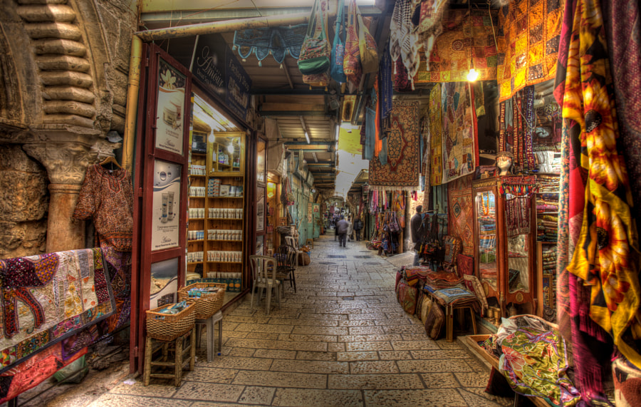 Photograph Colors of the Old City Market by Uri Baruch on 500px