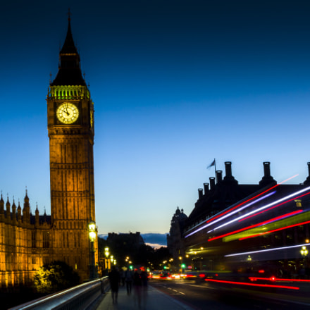 Big Ben at night, Canon EOS 60D