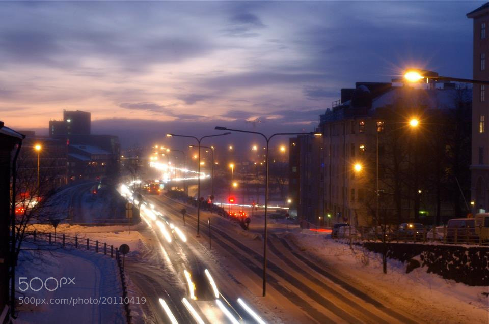 Photograph Morning mist in Helsinki by Jere Ketola on 500px