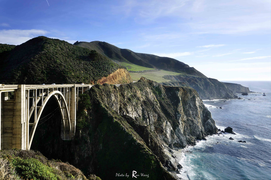 Big Sur bridge by Ziruo Jpg on 500px.com