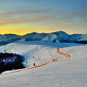 Mountain Road by Sabin Uivarosan (usabin)) on 500px.com
