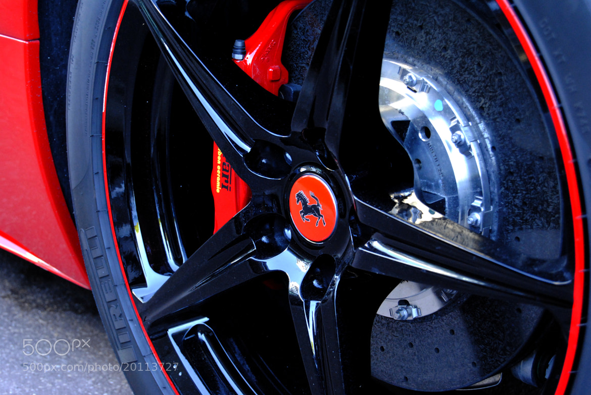 Photograph Ferrari 458 Italia Spider Black & Red by Ferrari-live @ Franck on 500px