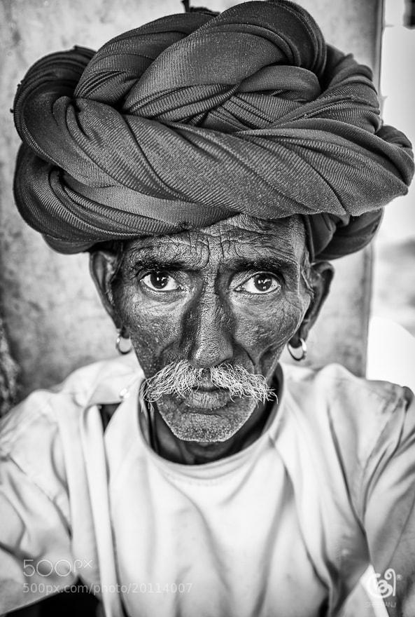Photograph Portrait of a farmer by sreeranj sreedhar on 500px