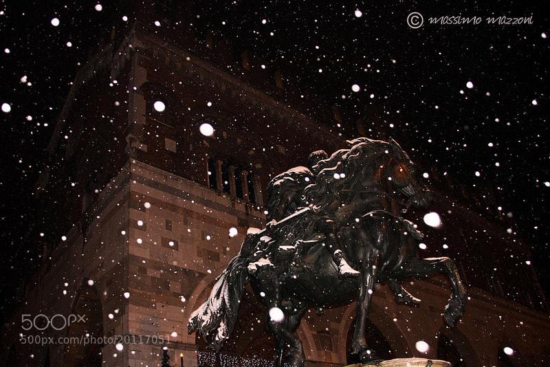 Photograph PIACENZA - la prima neve della stagione by massimo mazzoni on 500px
