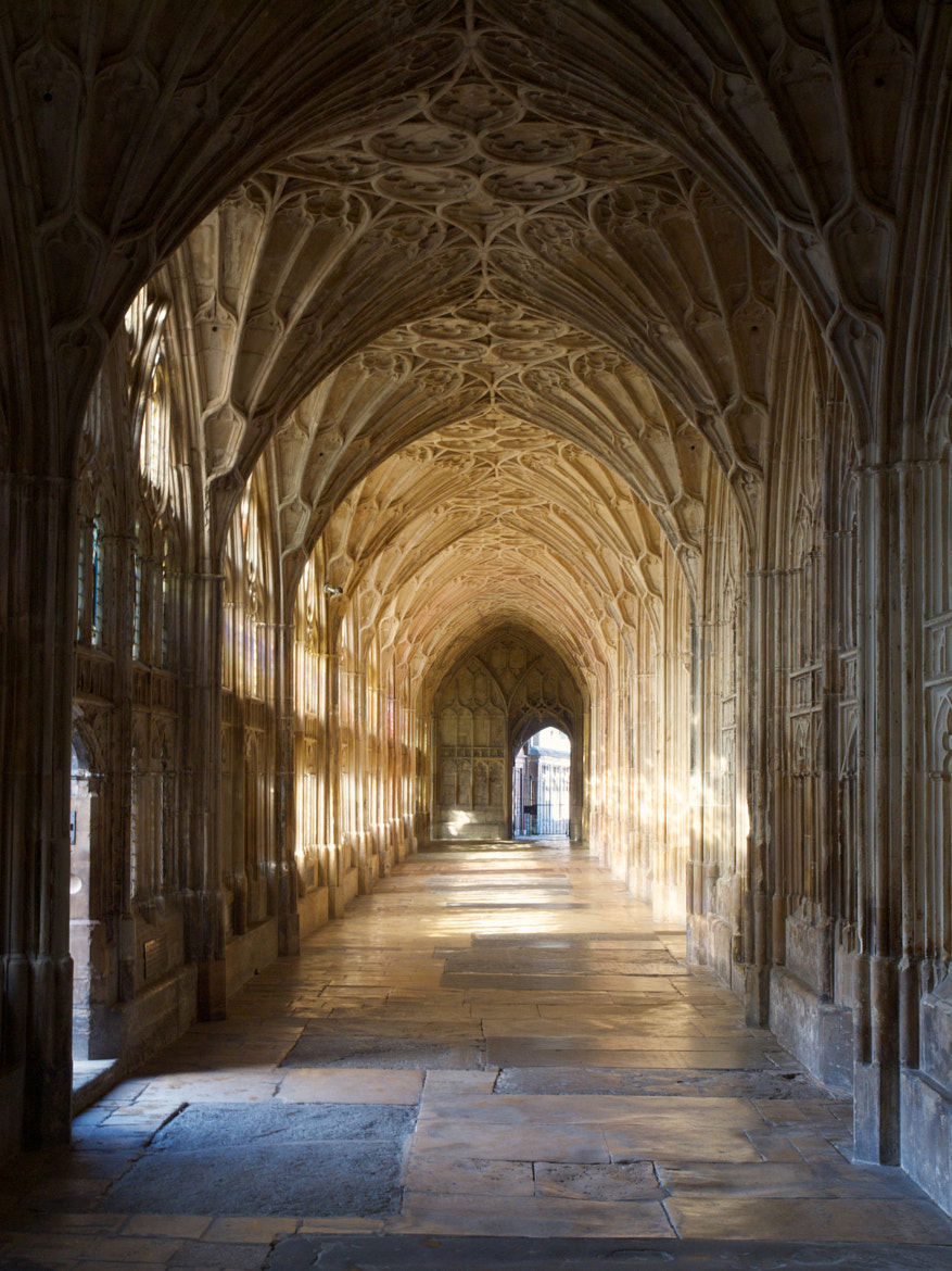 Photograph Gloucester cathedral cloister by Jon Sketchley on 500px