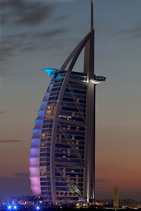 Photograph Burj Al Arab by arbe Gingoyon on 500px