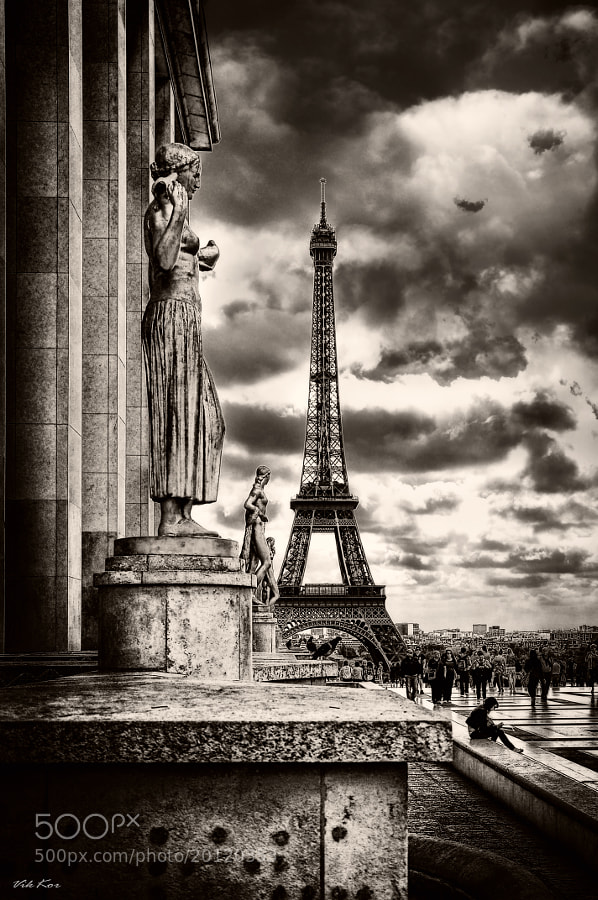 Photograph Paris by Viktor Korostynski on 500px