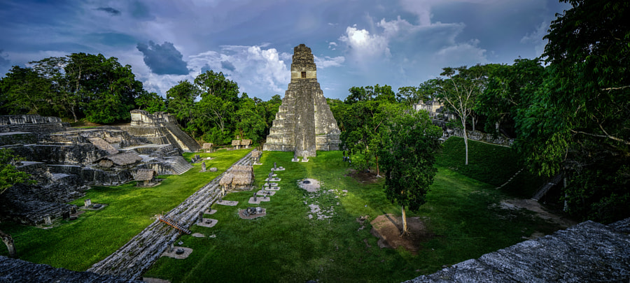 Tikal's Central Complex by Eduardo Teixeira de Sousa on 500px.com