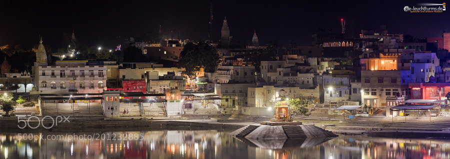 Pushkar by night