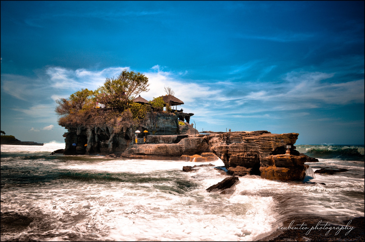 Photograph Tanah Lot Temple by Reuben Teo on 500px