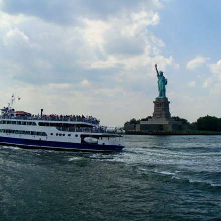 Statue of Liberty, Sony DSC-W130