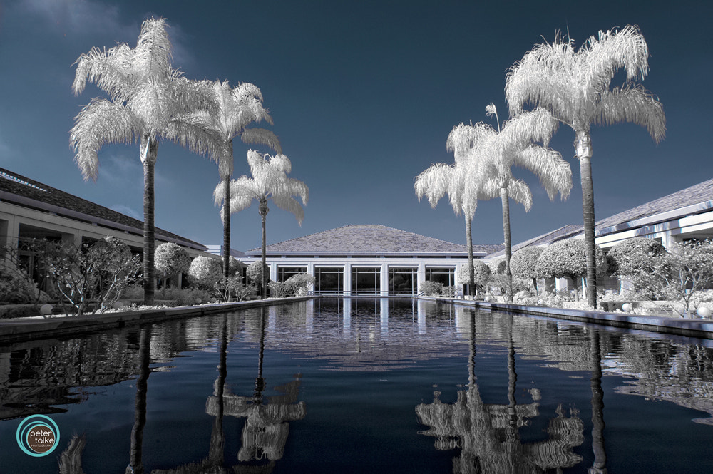 Photograph Nixon Library (Infrared) by Peter Talke Photography on 500px