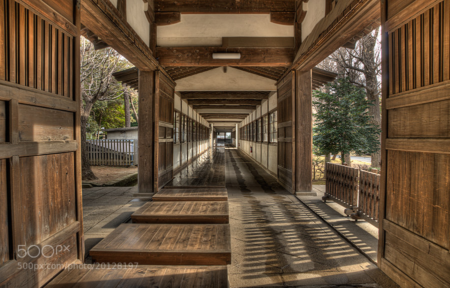 Photograph The monks inner walkway by Richard Brown on 500px