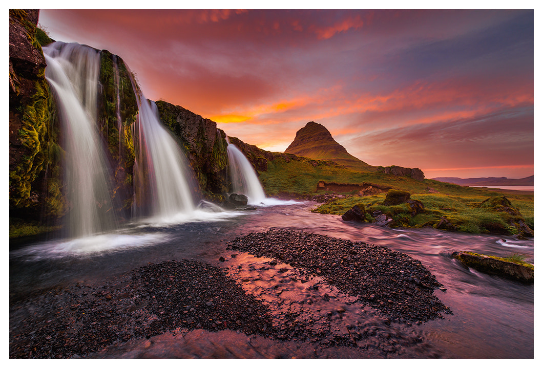 Photograph Triple Falls and Kirjufell by Joseph Rossbach on 500px