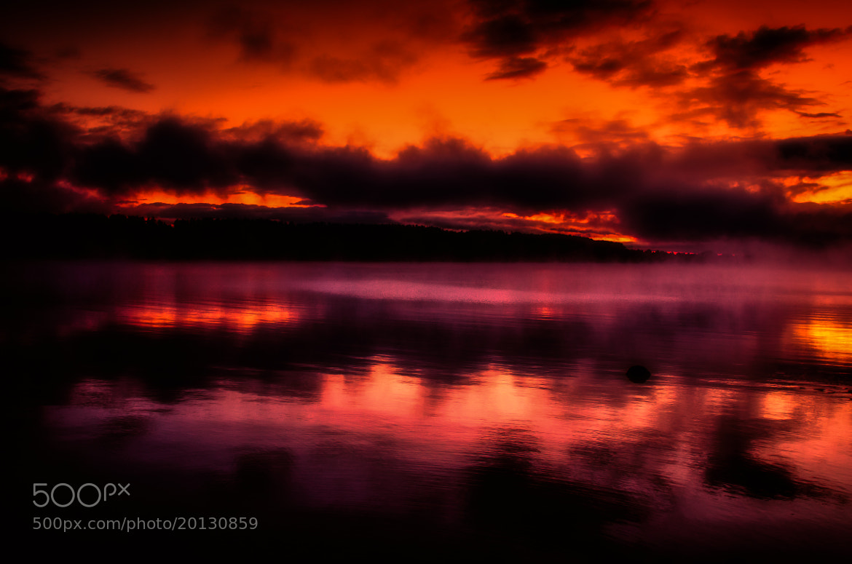 Photograph Light Through the Mist by Chris Lockwood on 500px