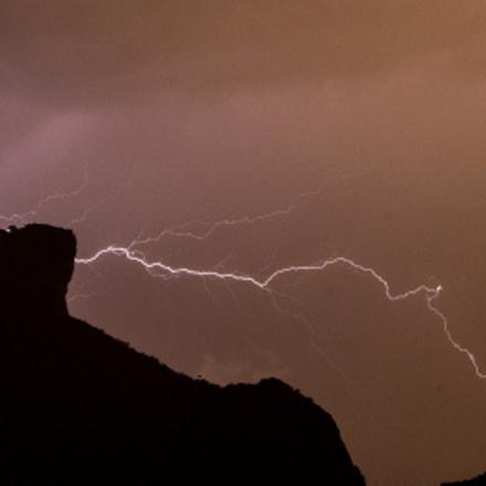 Lightning bolt and Pedra da Gavea