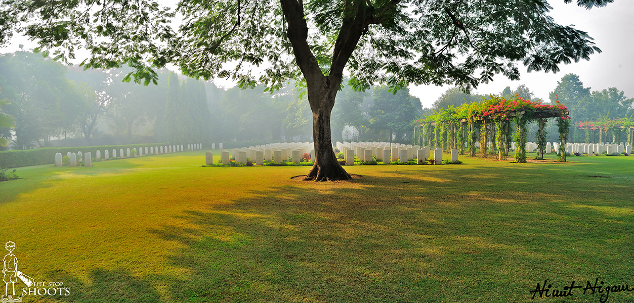 Photograph Delhi War Cemetery... by Nimit Nigam on 500px
