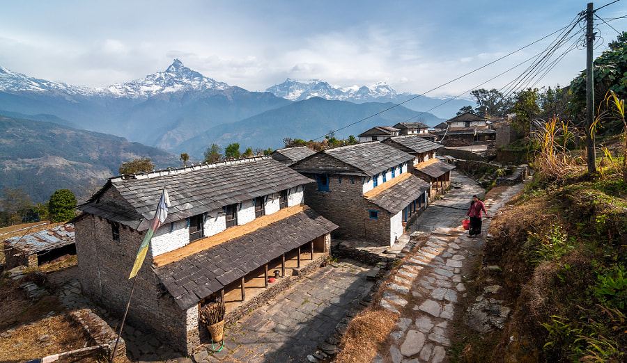 Simple living: One morning at Dhampus by Nix Shakya on 500px.com