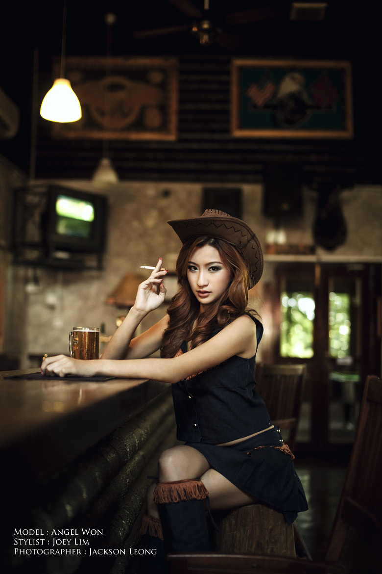 Photograph The Cowgirl by Jackson Leong on 500px