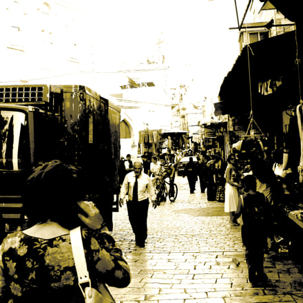Daily life on streets, Sony DSC-H20