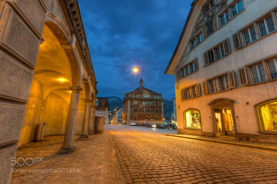 Hauptplatz in Schwyz, Switzerland