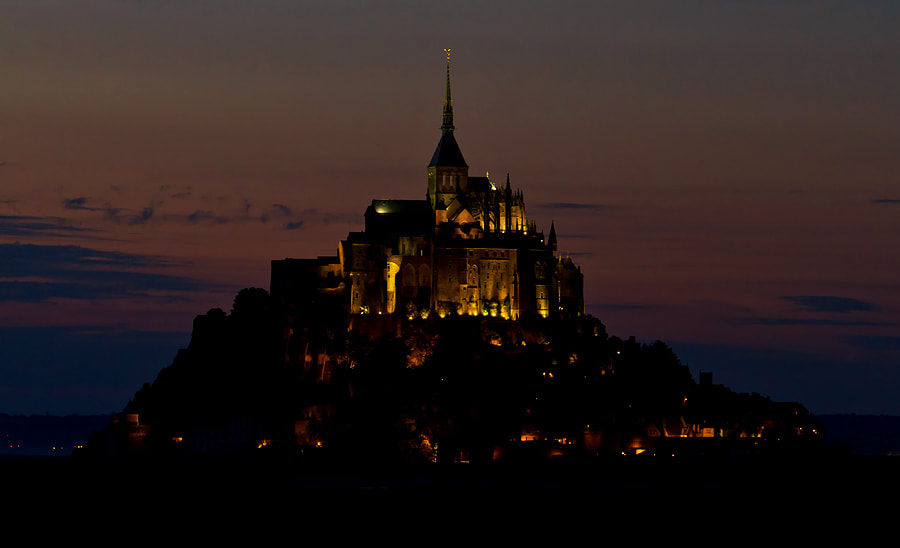 Photograph Mont Saint-Michel by Deen Guldemond on 500px