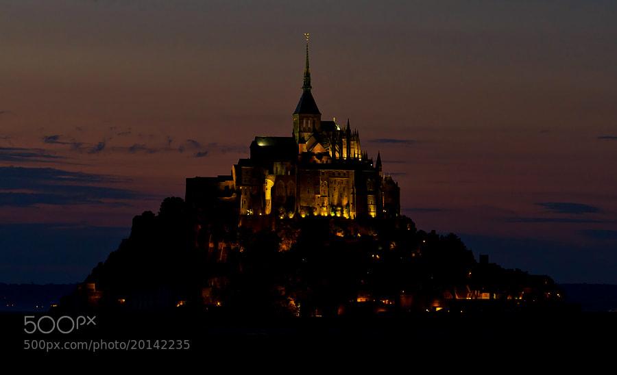 Photograph Mont Saint-Michel by Deen Guldemond on 500px