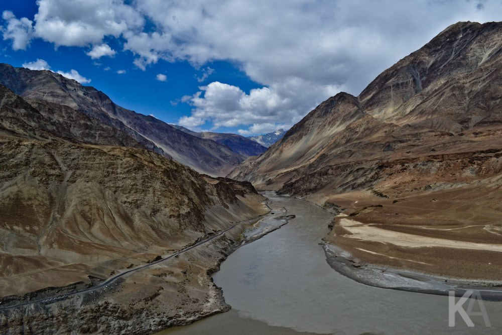 Photograph Sangam - Zanskar falling in love with Indus by Kunal Arora on 500px