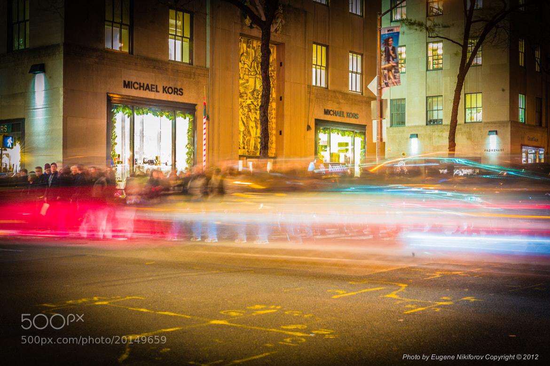 Photograph Christmas Traffic, 5th Avenue, Manhattan by Eugene Nikiforov on 500px