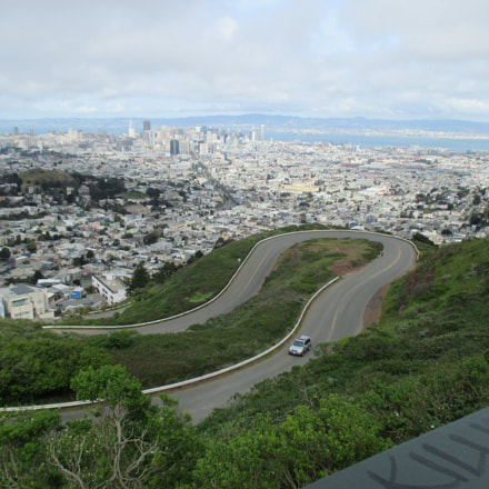 Twin Peaks Winding Road, Canon POWERSHOT ELPH 130 IS