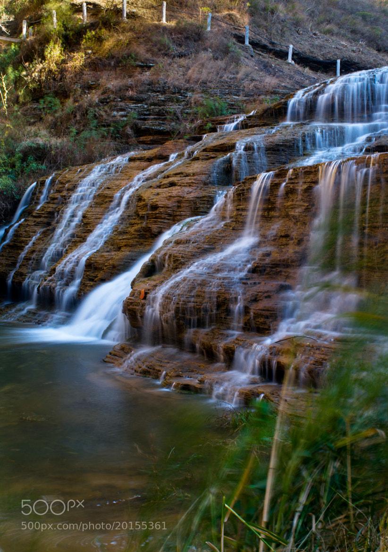 Photograph Waterfall by Jeffrey Pu on 500px