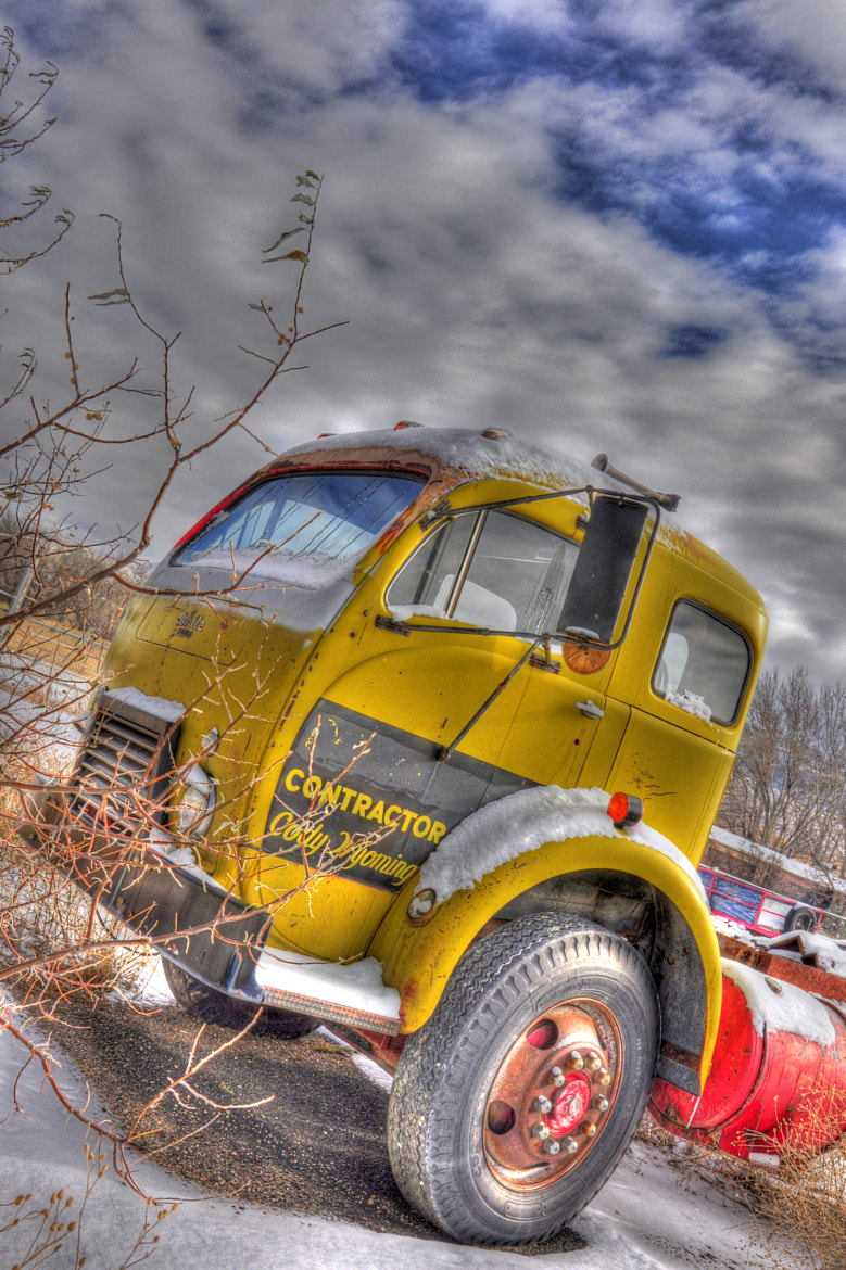 Photograph antique semi  by bob perkins on 500px