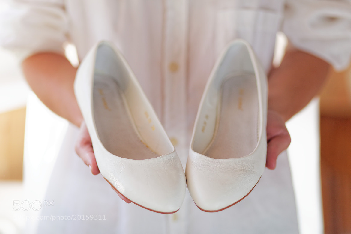 Photograph Bride and Her Shoes by Daniel Zaleski on 500px