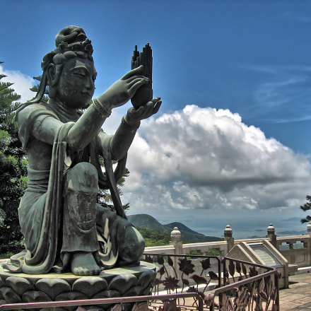 View from Big Buddha, Canon POWERSHOT A540, 5.8 - 23.2 mm