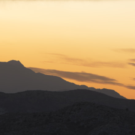 Sunset in the mountains, Canon EOS 5D MARK III, Sigma 180mm f/2.8 EX DG OS HSM APO Macro
