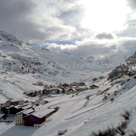 Zurs, Arlberg ski region, Vorarlberg, Austria