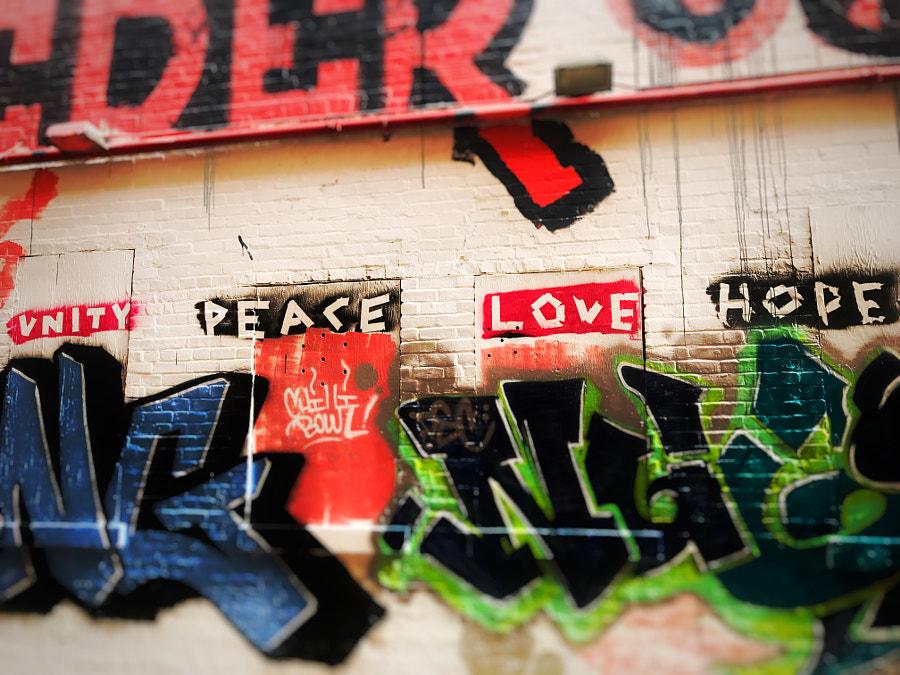 Unity..Peace..Love...Hope