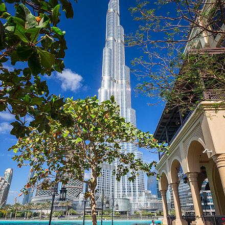 Burj Khalifa cityscape