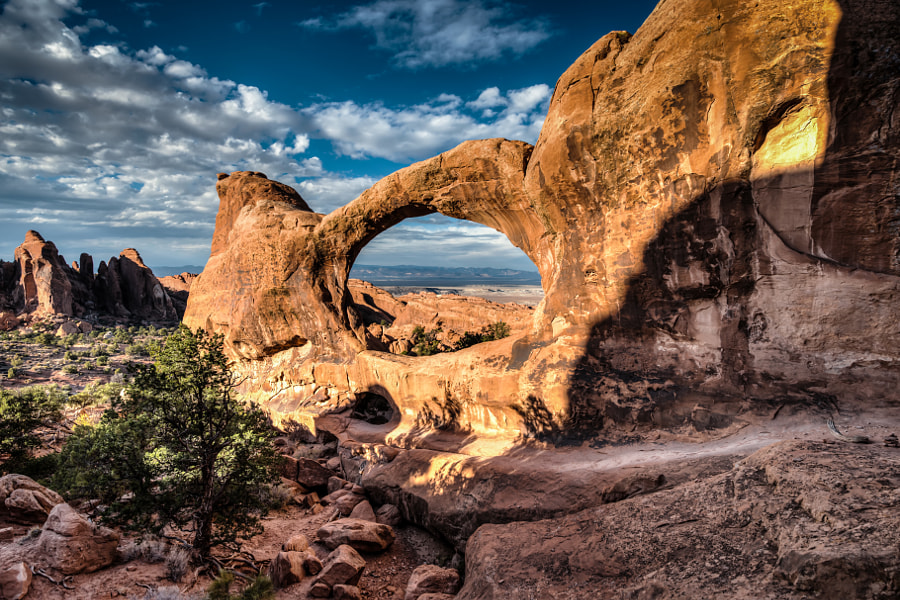 Photograph Double-O Arch by Scott Barlow on 500px