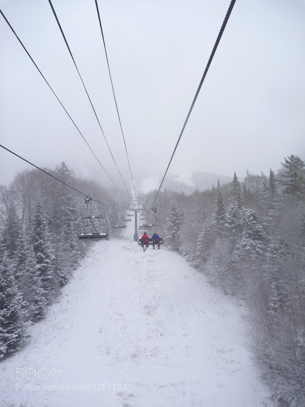 Photograph Mont Tremblant chairlift by Gabriel De Tilly on 500px
