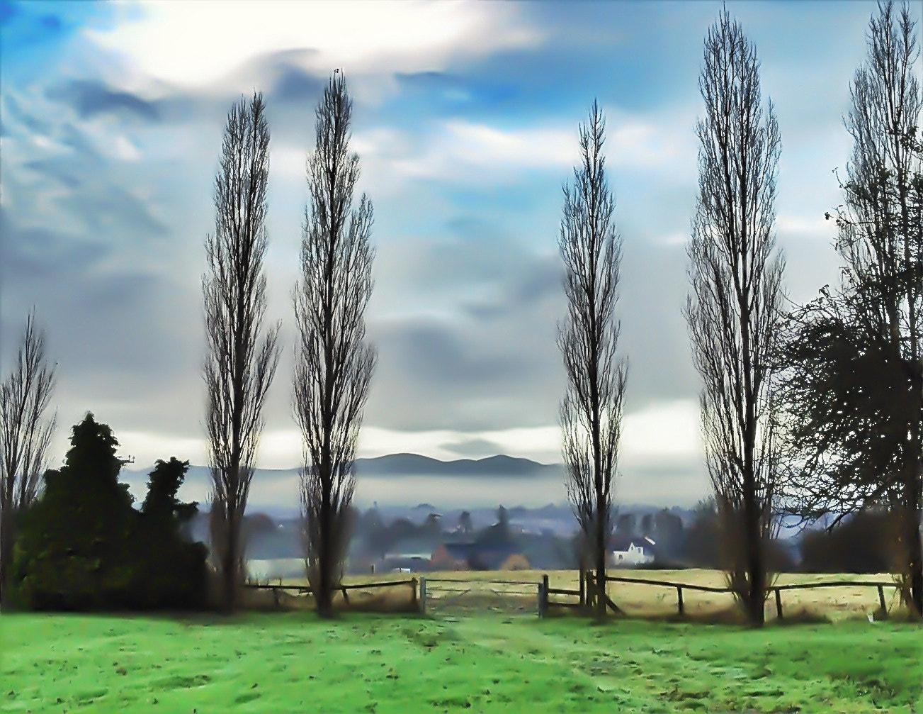 Photograph Malvern mist by Sarah Hughes on 500px