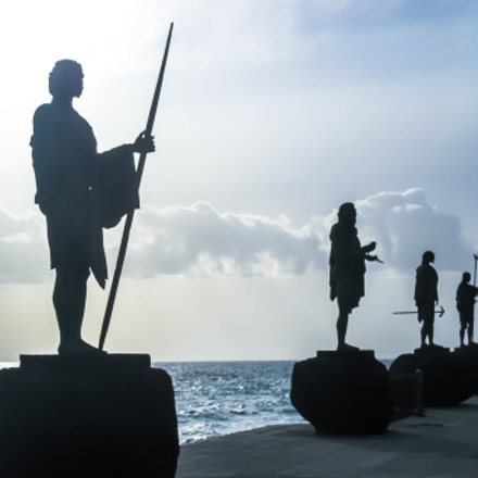 Guanches Kings Statues, Canon DIGITAL IXUS 970 IS