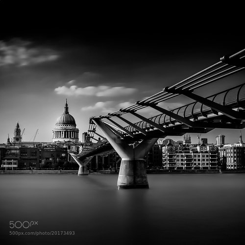 Photograph St. Paul's Cathedral over the River Thames by Anthony Solis on 500px
