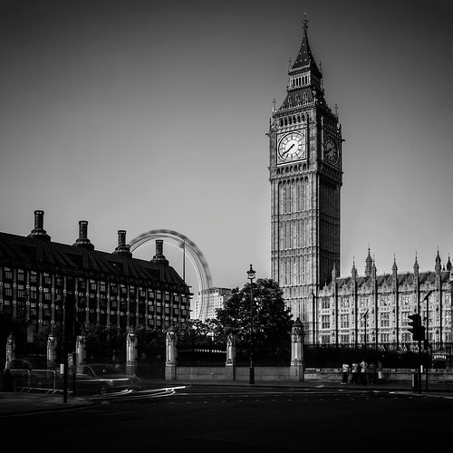 Photograph Elizabeth Tower and Big Ben by Anthony Solis on 500px