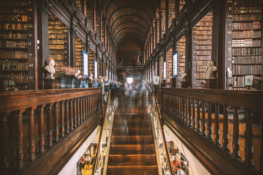 Long Room - Dublin (Ireland)