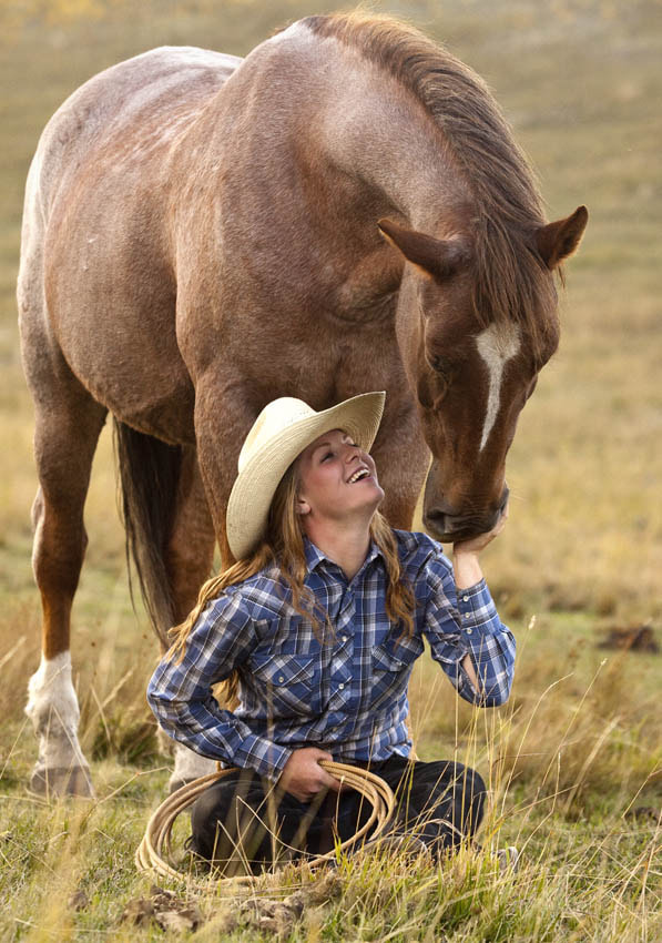 Photograph Cowgirl and Horse by Jennifer Meyers on 500px