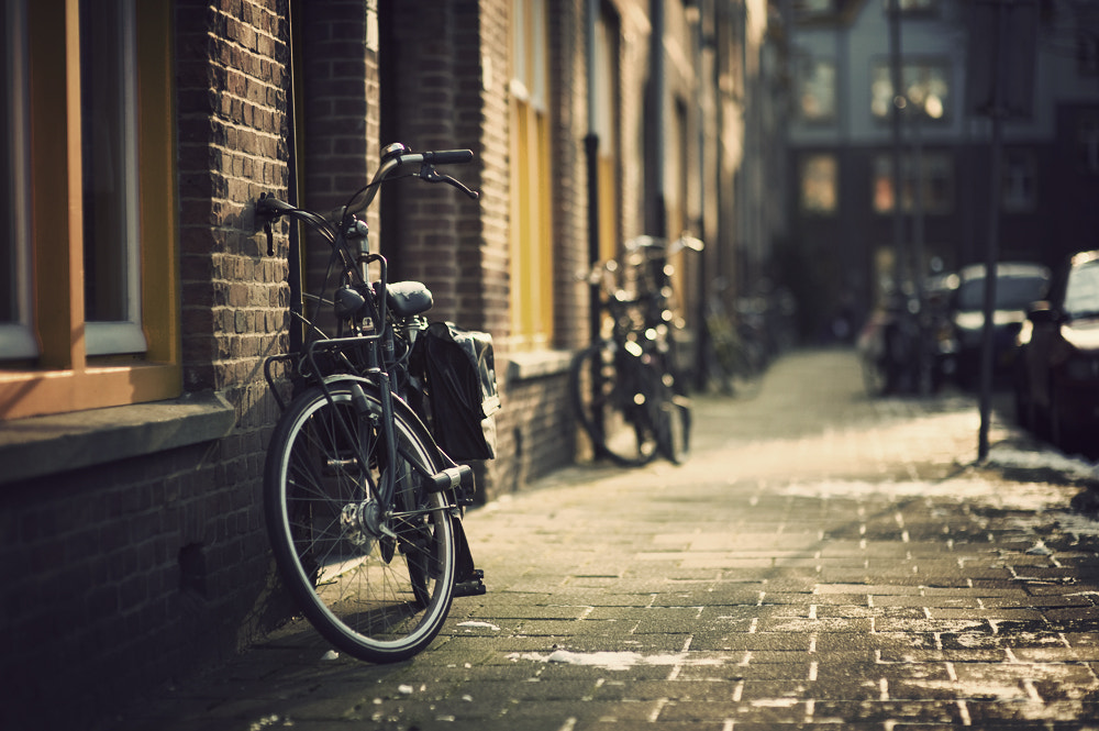 Photograph Amsterdam Bikes by Raphaël Dupertuis on 500px