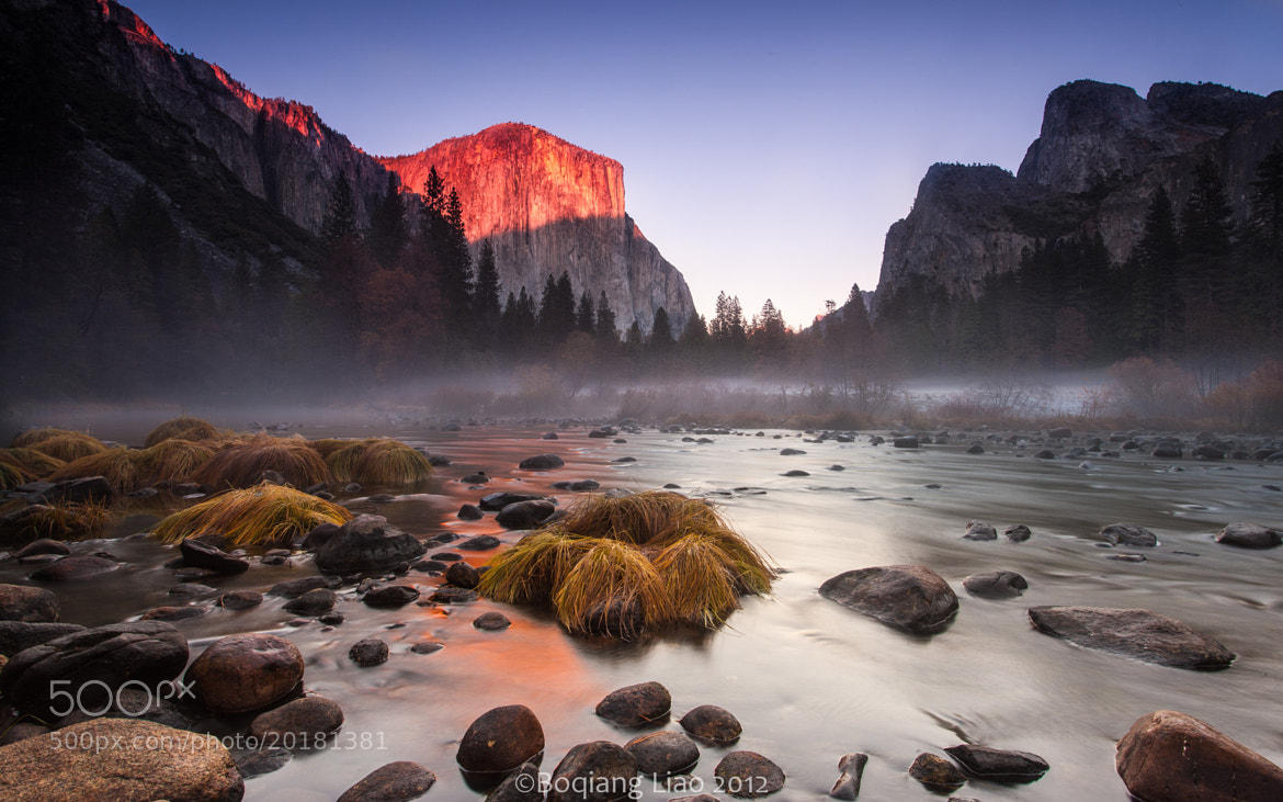 Photograph Yosemite Valley View by Boqiang Liao on 500px