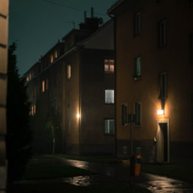 Photograph patioLights by Lukas Bachschwell