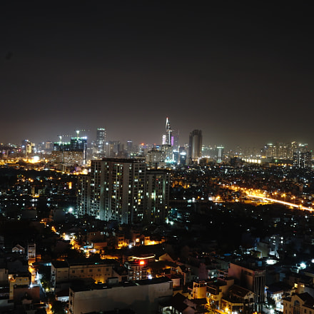 Saigon by night, Sony ILCE-6000, Sony E 16-70mm F4.0 ZA OSS